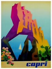 "Art Capri Italy Travel Poster Rare Hot New Original 11x14"" TR155"