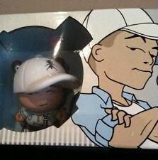"DUNNY 3"" HUCK GEE DJ QBERT QFO BLUE KIDROBOT 2006 URBAN VINYL DESIGNER TOY"