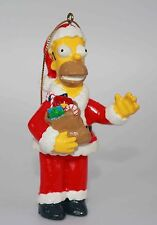 2003 The Simpsons Homer Santa Claus Holiday Christmas Tree Ornament 4""