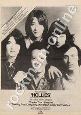 Hollies The Theatre Royal, Norwich MM4 LP/Tour Advert 1974