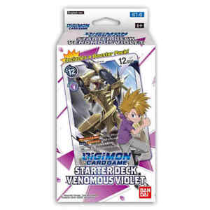 Digimon TCG: Starter Deck VENOMOUS VIOLET English NEW SEALED
