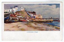 L'Ambarcadere - Tanger Art Postcard c1910 / Tangier