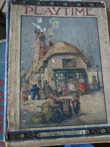 Playtime - Vintage Book. Dean & Son Ltd.