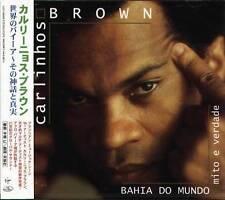 Carlinhos Brown - Bahia Do Mundo - Mito E Verdade - Japan CD - NEW