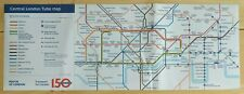 London Underground 1995/1996 Stock Carriage Diagram Tube Map with 150 years logo