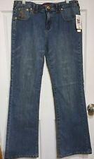 Baby Phat Authentic Women's stretch jeans sz 20 straight leg 33.5