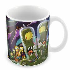Mug  simpson horror pictures show alien halloween