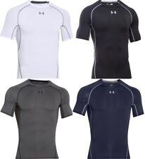 Under Armour Men's UA HeatGear Compression Shirt, Short Sleeve Shirt 1257468