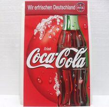 Coca-Cola - NOTES c/BASE RIGIDA - MOLLA di TENUTA BLOCCO