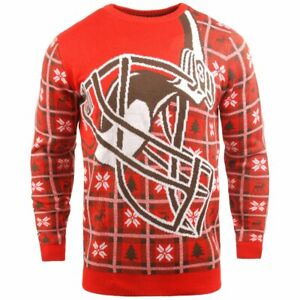 NFL Ugly Sweater XMAS Strick Pullover - Cleveland Browns