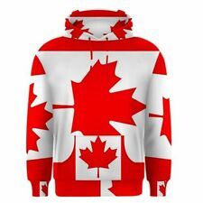 Long Sleeve Regular Size L Canada Sweats & Hoodies for Men