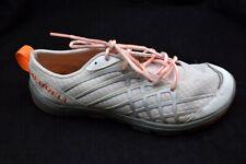 Merrell 7M Bare Access Arc 2 white orange womens ladies running tennis shoes
