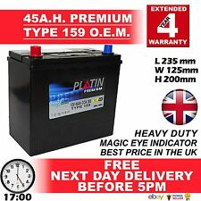 159 Car Battery Type 043 / 049 / 159 / 057 45Ah 330cca Sealed 4Yr Wty O.E.M. £££