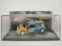 1/43 RENAULT CLIO S1600 2007 BETTI MONTECARLO RALLYE IXO CAR ESCALA DIECAST