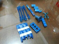 Non-Lego LOT of Bricks - Dark Blue Color 14 pieces - Check Below