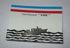 Pin's Armée / bateau ravitailleur Var A 608 (signé Segalen)