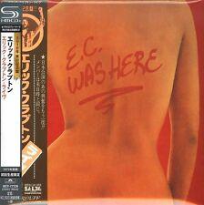 ERIC CLAPTON-E.C. WAS HERE-JAPAN MINI LP SHM-CD Ltd/Ed F81