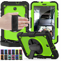 "Heavy Duty Stand Case & Strap For Samsung Galaxy Tab A 8.0"" 10.1"" 10.5"" Tablet"