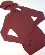 Women's S Kate Spade Sweater Hoodie Saturday Wool Cashmere Pink Mauve NWT