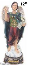 "12"" Inch Statue of Saint Archangel Gabriel San Arcangel St Estatua Angel"