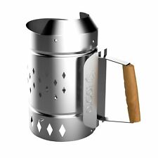 XL BBQ Chimney Starter for Lighting Charcoal and Briquettes