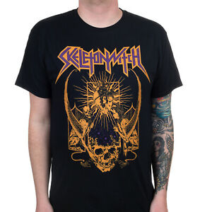 Authentic SKELETONWITCH Blackened Heart T-Shirt S-3XL NEW