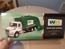 First Gear Garbage Truck 1/34 Scale Waste Management Rear End Loader New NIB