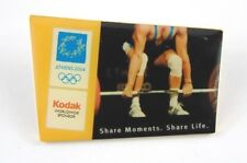 Athens Olympic Games 2004 Pin Badge - Kodak Share Moments Weight lifting sponsor