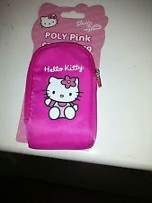 Hello Kitty Funda Cámara totalmente nuevo de Poliéster Rosa Bolsa De Cámara BNIP