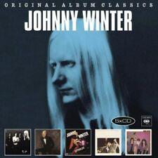 Original Album Classics - 5 DISC SET - Johnny Winter (2012, CD NEUF)
