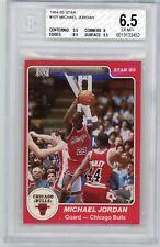1984-85 STAR Co Michael Jordan xRC #101 ROOKIE RC Graded BGS 6.5 Centered Bulls