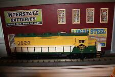 Atlas O Gauge  GP-35 Diesel loco # 3620 NIB 3 rail Mint Reading Lines #11111-1