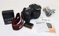 Canon 1100D EOS 7D / 18.0 MP Digital SLR Camera Body ONLY 5737 SHUTTER! MINTY!