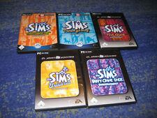 Die Sims 1 Sammlung viele Spiele PC alle in DVD Hüllen