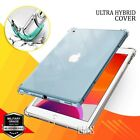 For iPad 9th 8th 7th 6th 5th Gen Pro 11 Clear Shockproof Heavy Duty Case Cover