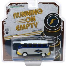 Greenlight Running on Empty 1 VW Type 2 T1 Samba Bus Van Goodyear 1/43