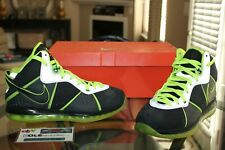 Deadstock Nike Lebron 8 VIII 112 Pack DJ Clark Kent Signed Box Player Size 11.5