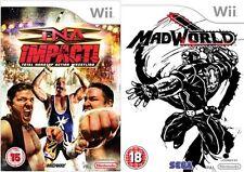 Na impacto total Nonstop Action Wrestling! & MADWORLD MAD WORLD Nuevo y Sellado