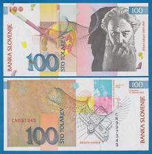 Slovenia 100 Tolarjev P 31 2003 UNC Low Shipping! Combine FREE!  (P-31a)