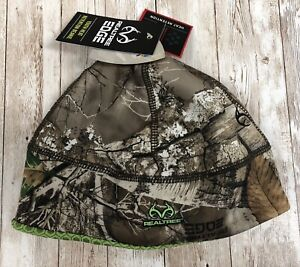Realtree Edge Youth Size Heat Retention Hunting Beanie Microban Camouflage Camo