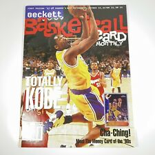 Vintage Beckett Basketball Magazine Monthly Price Kobe Bryant May 1998