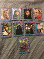1991 ROBIN HOOD PRINCE OF THIEVES 55 CARD SET+9 CARD STICKER SET NM/M