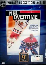NHL Vintage Collection: Overtime Heroes Hockey NEW ! DVD, STANLEY CUP ,Playoffs