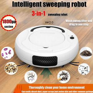 Smart Sweeping Robot Vacuum Cleaner Floor Edge Dust Clean Auto Suction Sweeper-