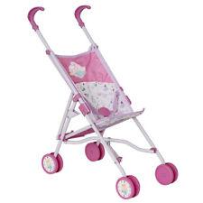 Baby Born Doll Stroller W/ Bag for 45cm Dolls 3y Kids/toddler Pretend Play Toy