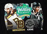 NHL 2019 Winter Classic Boston Bruins/Chicago  Blackhawks/Bergeron/Kane/T-Shirt