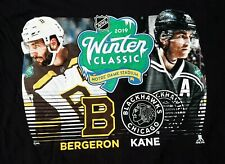 NHL 2019 Winter Classic Boston Bruins/Chicago  Blackhawks/Bergeron/Kane/T-Shirt