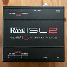 Serato SL2 Scratch Live DJ Interface with Optional Power Supply Adapter