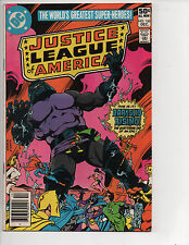 Justice League of America #185 (12/80) FN (6.0) Apokolips! Cool Bronze Age!