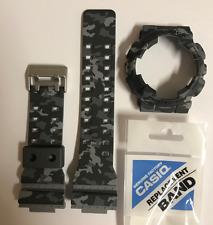 CASIO G-Shock Original Band GA-100CM-8A GD-120CM-8 Camouflage Grey&Bezel GA100CM